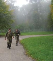 Reservisten der KrsGrp Schwaben-Nord zeigen Leistung und Ausdauer