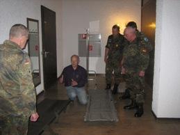 SanAusbldg aTr und Erste Hilfe im Rahmen der Förderung militärischer Fähigkeiten