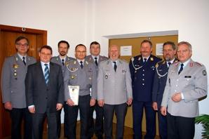 Beim Jahresempfang in Dillingen langjährige und verdiente Mitglieder geehrt ..