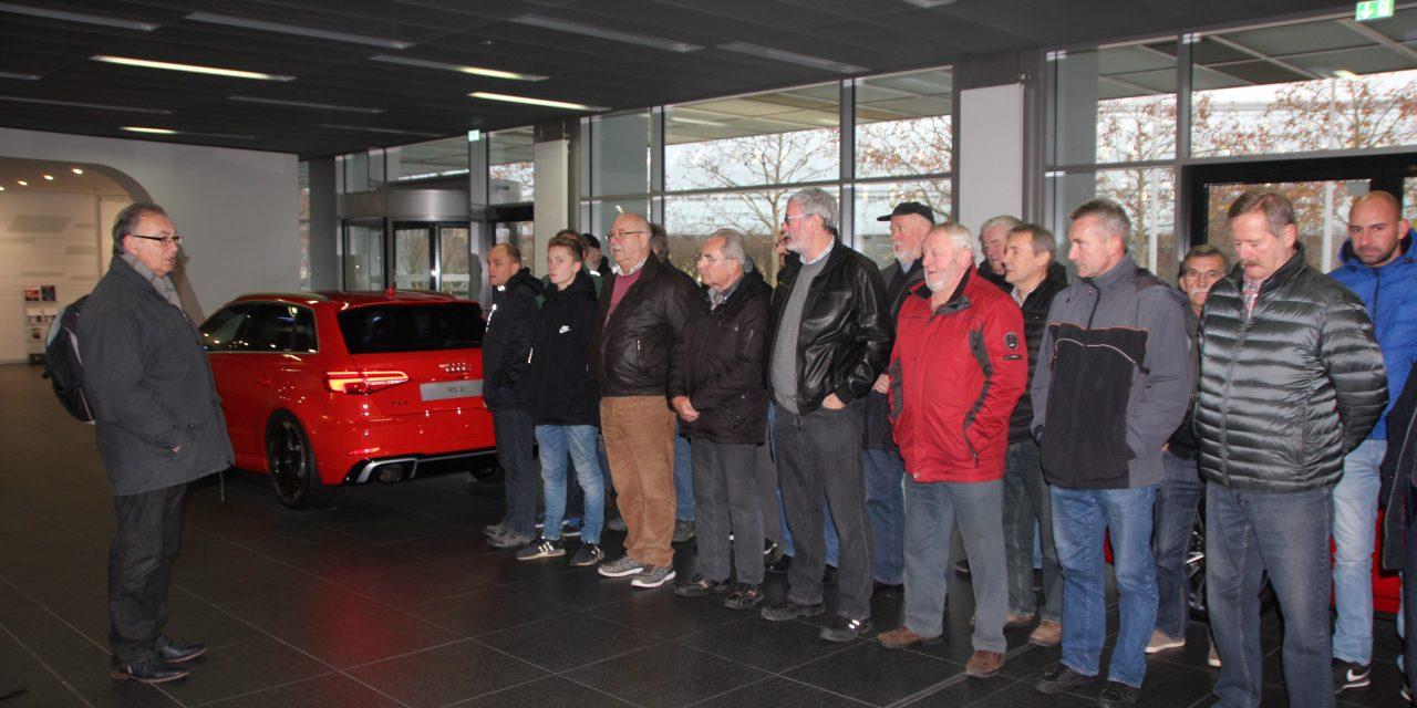 Infofahrt ins Audi Forum Ingolstadt