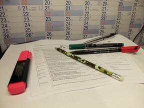 Kreisvorstand und Beauftragte erstellen Jahresplanung 2012