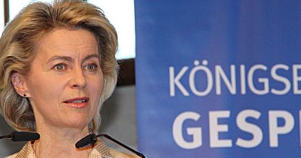 Ursula von der Leyen bei 3. Königsbronner Gesprächen mit erlebt …