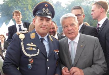 Kreisschriftführer Ralf Hoppen wurde vom Bundespräsidenten empfangen