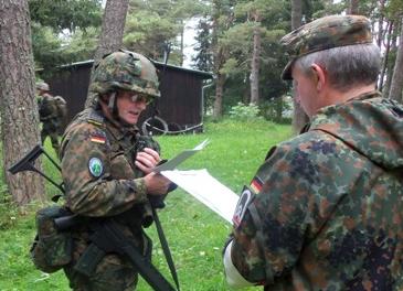 Schwäbische Reservisten erfolgreich beim Württembergischen Reservistenwettkampf 2014
