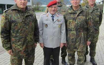 23. BodenseeReUnion in der Wallgau-Kaserne in Bludesch