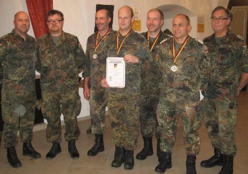 RK Gremheim I ist der Kreissieger beim Nacht-O-Marsch 2014