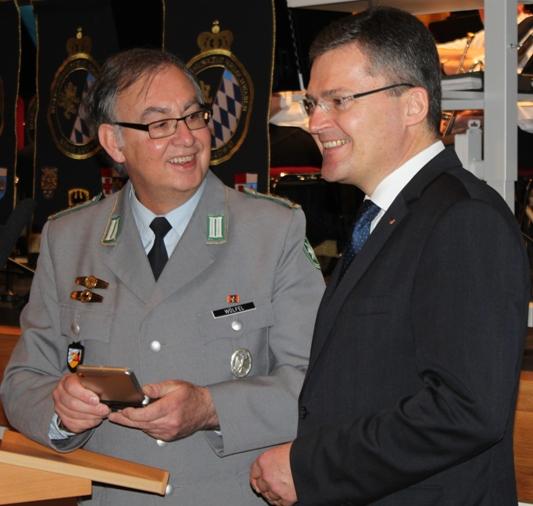 Präsident Roderich Kiesewetter fordert in Nördlingen einen Attraktivitätsschub
