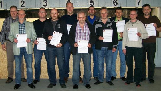 RAG Schießsport – neue Schießleiter ausgebildet