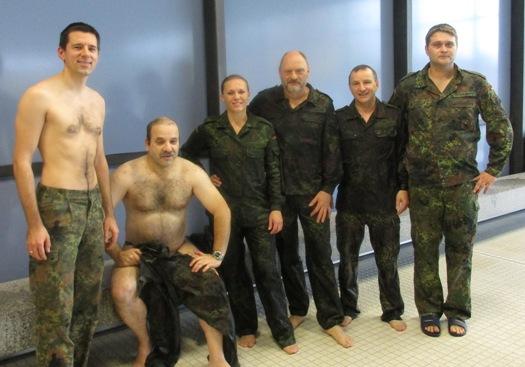 1. Kleiderschwimmen im Rahmen der IGF/KLF