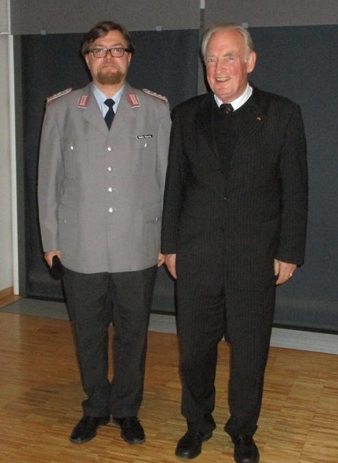 """General a.D. Hans-Peter von Kirchbach spricht zu """"25 Jahre Armee der Einheit"""""""