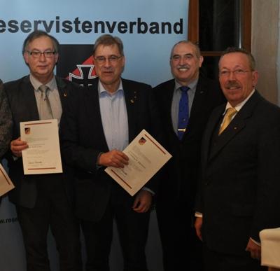 Werner Wölfel mit Ehrennadel in Gold ausgezeichnet