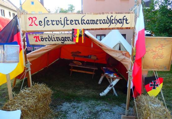RK-Lager beim Stadtmauerfest Nördlingen