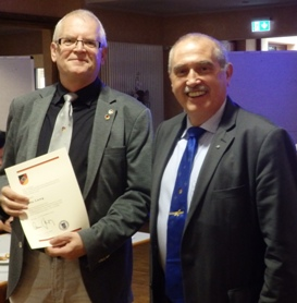 LdsRevisor Otto Lang erhält Ehrennadel in Silber