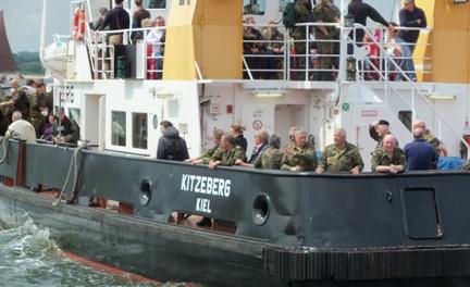 Infofahrt 2012 zur Marine in den hohen Norden