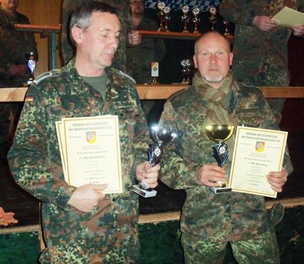 Sieger der Kreismeisterschaft im Schießsport geehrt