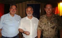 Treffen in Mazar-e Sharif mit Staatssekretär Thomas Kossendey