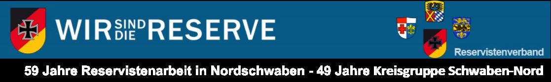 Informationen für die Reservisten in Nordschwaben