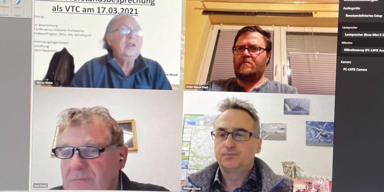 Erste Online-KrsVorstandssitzung statt Präsenzveranstaltung