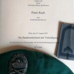 Peter Raab zum Feldwebel der Reserve befördert